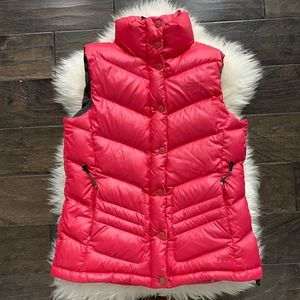 THE NORTH FACE PINK 700 GOOSEDOWN PUFFER VEST